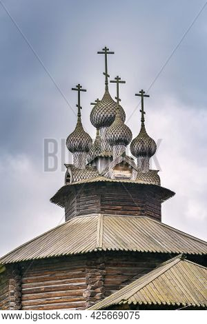 Cathedral Church Of The Blessed Virgin Mary, From Kholm Village, Kostroma, Russia