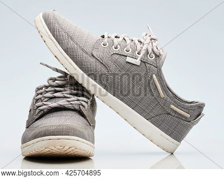 Pair Of Modern Casual Shoes
