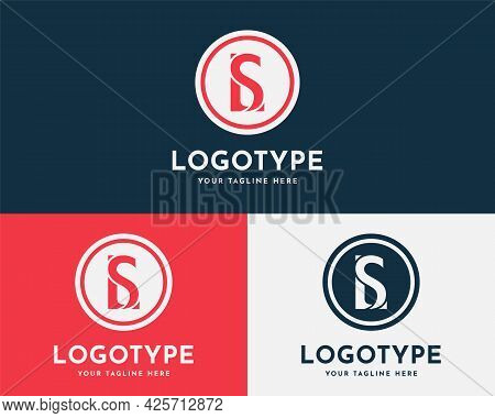 Letter Sl, Ls, L And S, S And L Initial Logo Design Template. Creative And Modern Monogram Symbol. P