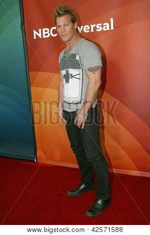PASADENA, CA - JAN. 7: Chris Jericho arrives at the NBCUniversal 2013 Winter Press Tour at Langham Huntington Hotel & Spa on January 7, 2013 in Pasadena, California