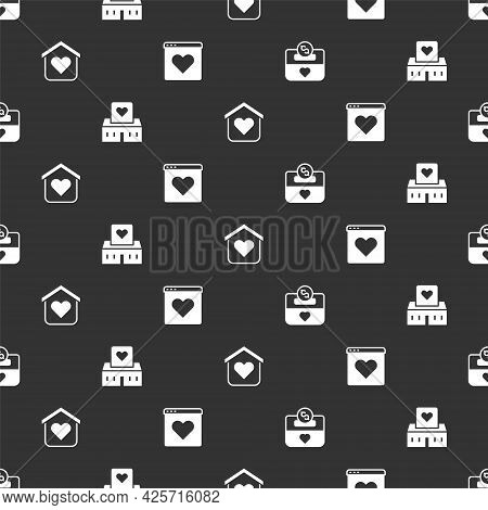 Set Donation And Charity, Volunteer Center, Shelter For Homeless And Dating App Online On Seamless P