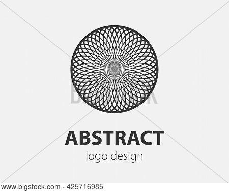 Swirl Logo Design Element. Vector Logotype Company.