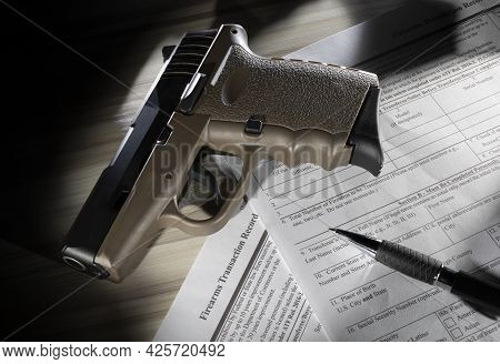 Fbi Nics Check That Is In The Public Domain You Must Coplete To Purchase A Gun With A Polymer Pistol