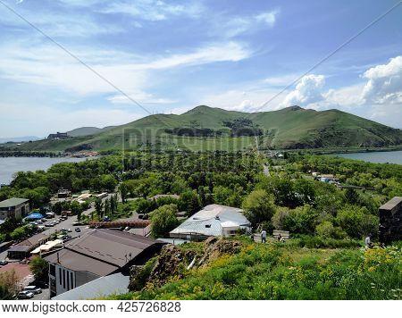 View From Top Of Sevan Peninsula, Armenia