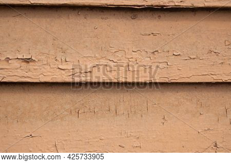 Macro Background Beige Cracked Boards Laid Out Horizontally, Background, Boards, Beige, Old, Color,