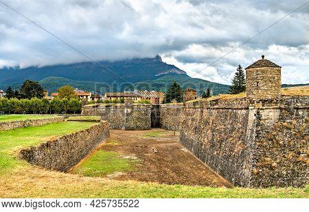 The Citadel Of Jaca In Aragon, Spain