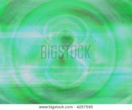 Vórtice verde cobre