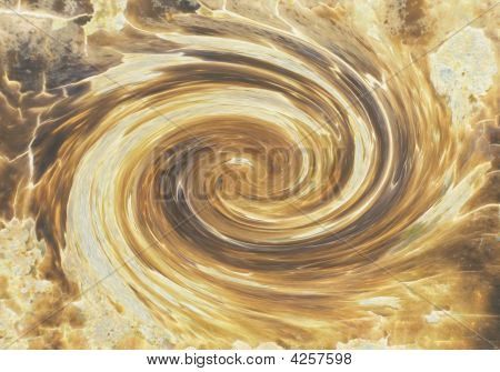 Galaxia marrón
