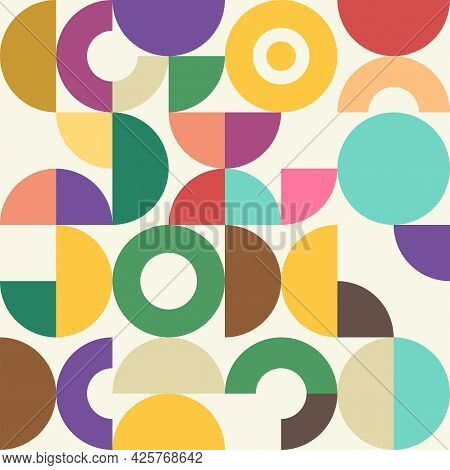 An Artistic Retro Style Graphic Pattern Background.