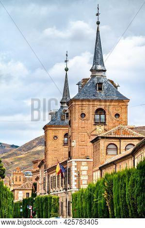 Colegio De San Agustin In Alcala De Henares Near Madrid, Spain