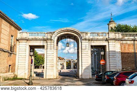 Casa De Caballeros At The Royal Palace Of Aranjuez, A Former Spanish Royal Residence