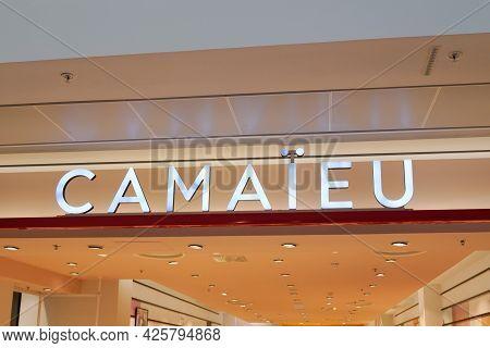 Montpellier , Ocitanie France  - 06 30 2021 : Camaieu Logo Store Brand Camaïeu Shop With Text Sign F