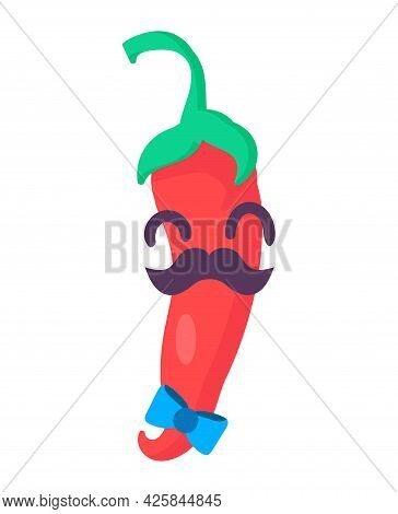 Chilli Plant Emoji Happy Emotion Art Vector