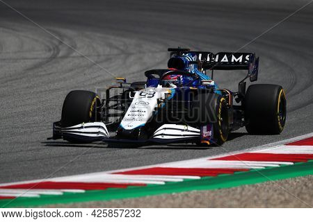 George Russell Of Williams   On Track  During Free Practice Of   Styrian Formula 1 Gran Prix 2021