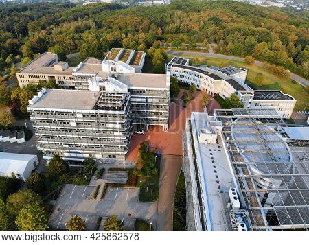 Hagen, Germany - September 16, 2020: University Of Hagen In Germany. The University Is Also Known As