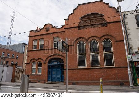 Dublin 1, Dublin, Ireland, June 28th 2021. Front Of Dublin Coroners Court On Store Street