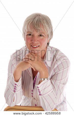 Casual Senior Woman