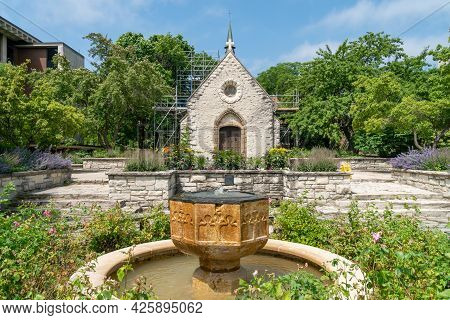 St. Joan Of Arc Chapel On The Campus Of Marquette University