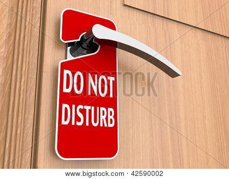 No molestar signo