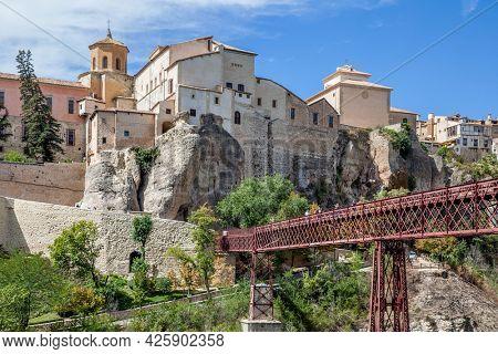 Bridge the Old town of Cuenca, Castilla-La Mancha, Spain