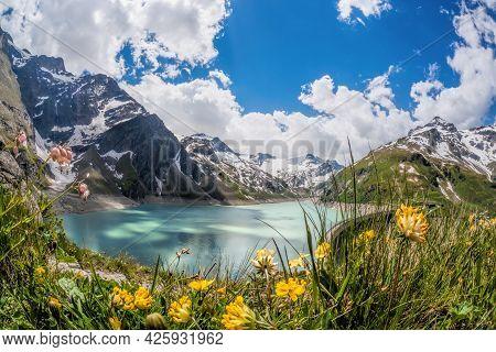 Kaprun High Mountain Reservoirs - Zell Am See-kaprun With Beautiful Nature,salcburger Land, Austrian