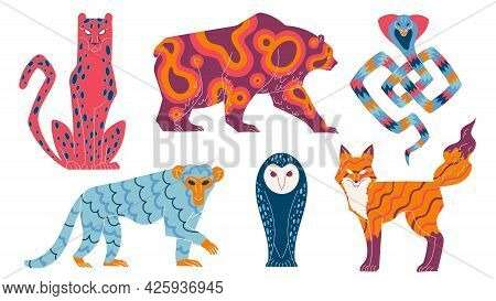 Mythical Animals, Mystical Characters Wild Fairy Tale Animals.