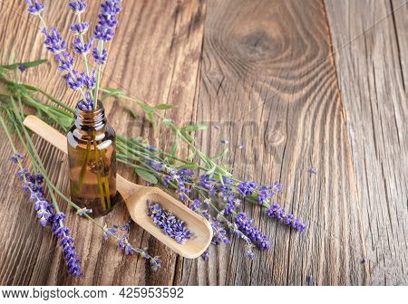 Aromatherapy And Essential Oil, Herbal Natural Cosmetics, Alternative Medicine And Phytotherapy Conc