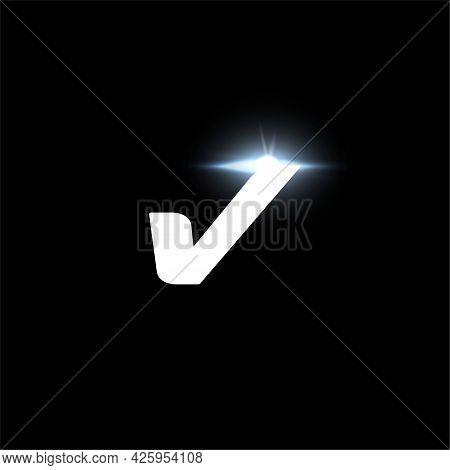 V Letter Logo, Bold Italic Letter For Automotive, Speed Race, Sport Label Design And Dynamic Monogra