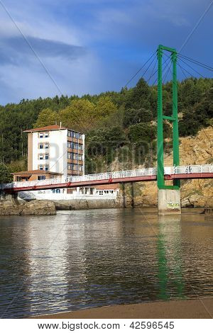Brige Of Pobena, Muskiz, Bizkaia, Basque Country, Spain