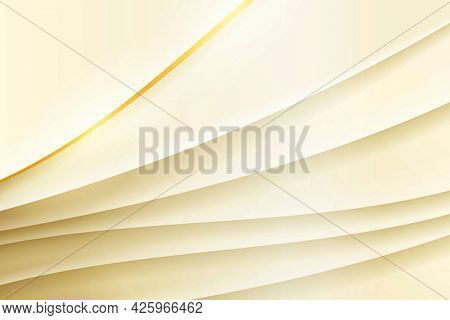 Gold gradient layer patterned background