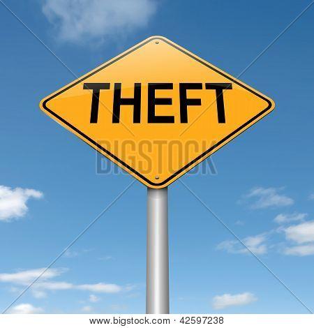 Theft Concept.