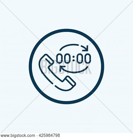 Black Solid Icon For Recall Call-off Call Summoning-back Memorize Retrace Contact Communications Con