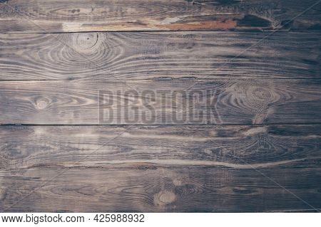 Old Wood Texture Background Surface. Wood Texture Table Surface Top View. Vintage Wood Texture. Natu