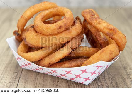Side Order Of Onion Rings Are Delicious To Eat All By Themself As Well.