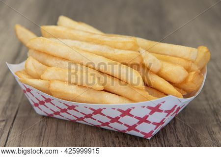 Side Order Of French Fries Are Delicious To Eat All By Themself As Well.