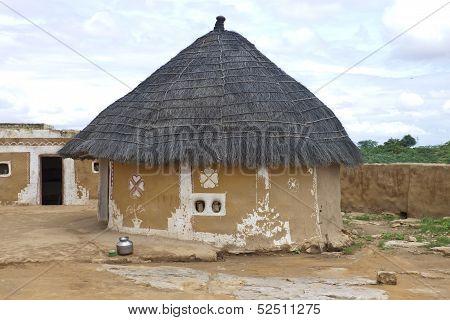 Village hut in Thar desert