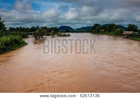 Islands on Mekong river