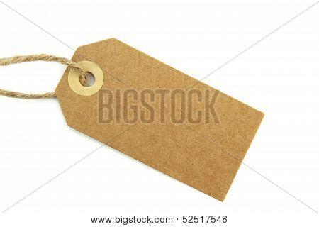Blank natural label