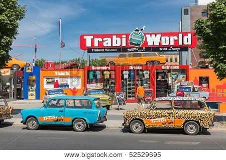 Trabant museum and also renting a car for a Trabant safari in the center of Berlin