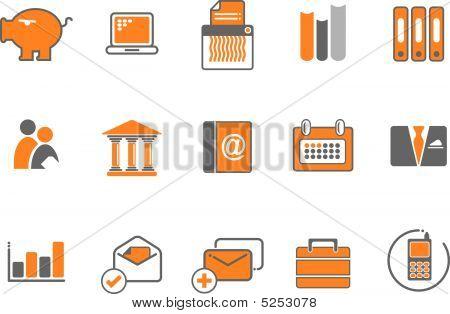 Business Icon Symbol Set
