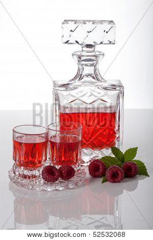 Raspberry Homemade Liquor