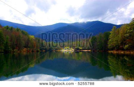 Beautiful Mountain Lake