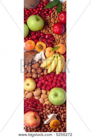 Fresh Fruit And Nuts