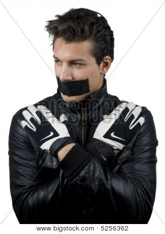 Man In Leathers
