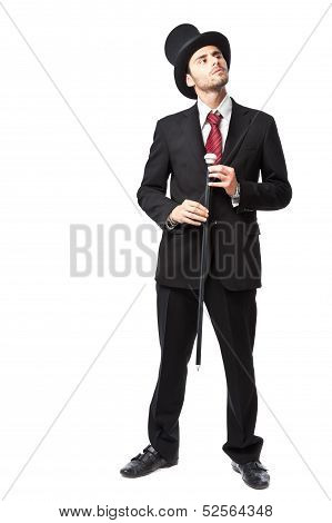 Businessman With Top Hat