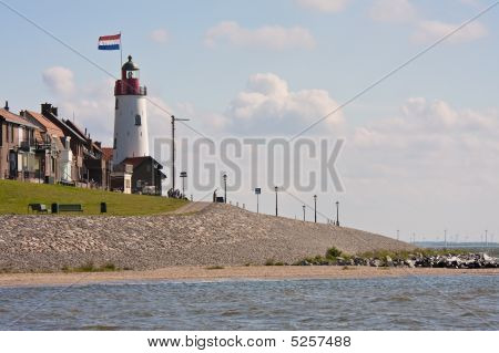 Coastline With Lighthouse