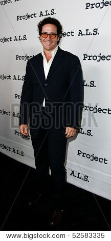 NEW YORK- OCT 17: Actor Rob Morrow attends the Project A.L.S. 15th Anniversary benefit at Roseland Ballroom on October 17, 2013 in New York City.