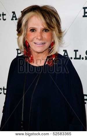 NEW YORK- OCT 17: President of HBO Documentary Films Sheila Nevins attends the Project A.L.S. 15th Anniversary benefit at Roseland Ballroom on October 17, 2013 in New York City.