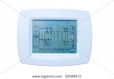 Programmable Thermostat isolated