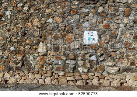 Field Stone Background Or Backdrop